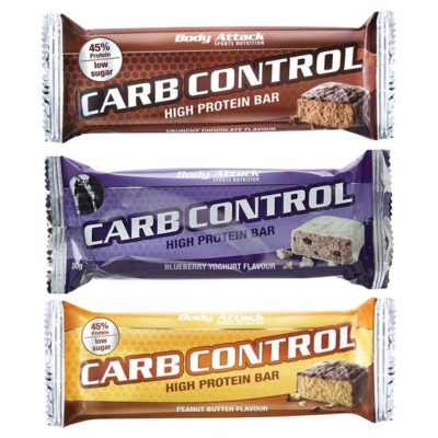 Carb Control Bar 100g – Body Attack