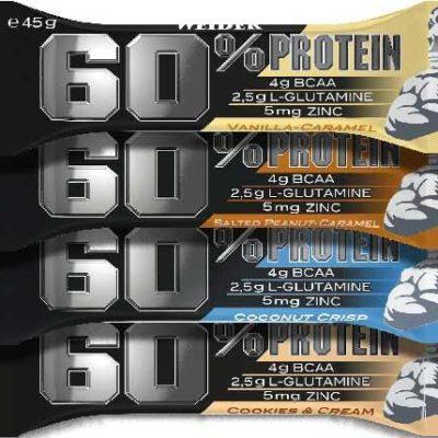 60% Protein Bar 45g – Weider