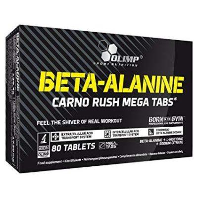 Beta Alanine Carno Rush Mega Tabs 80tab – Olimp Sport Nutrition