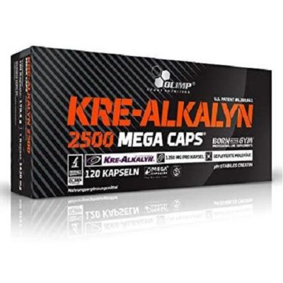 Kre Alkalyn 2500 Megacaps 120cps – Olimp Sport Nutrition