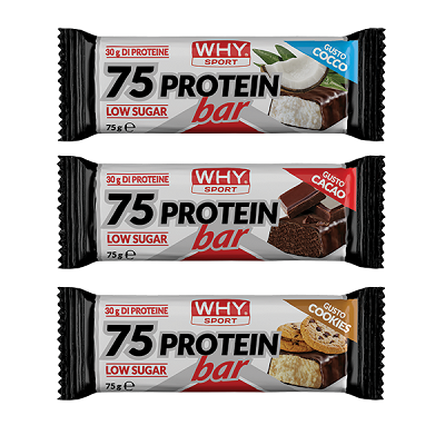 75 Protein Bar 75g – Why Sport