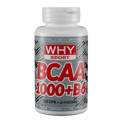 BCAA 1000+B6 300cpr- Why Sport