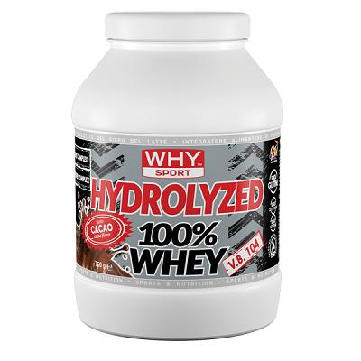 Hydrolyzed 100% Whey 750g – Why Sport