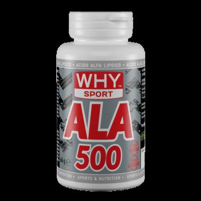 ALA 500 Acido Alfa Lipoico 60cpr – Why Sport