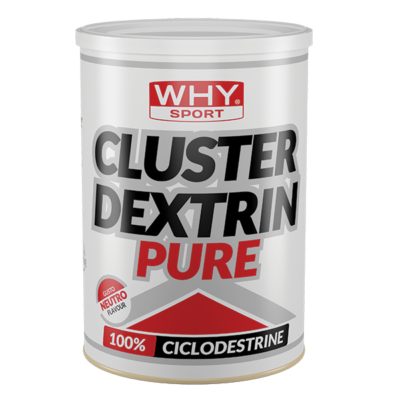 Cluster Dextrine Pure 500g – Why Sport