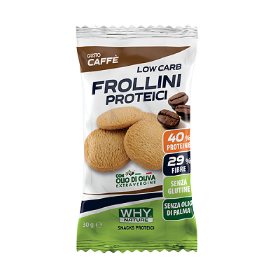 Low Carb Frollini Proteici 30g – Why Nature