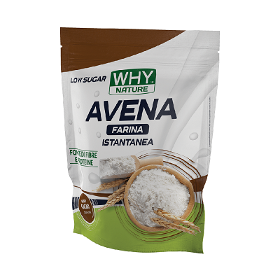 Avena Farina Istantanea 1Kg – Why Nature
