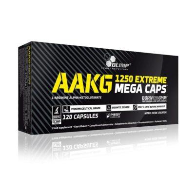 AAKG 1250 Extreme Mega Caps 120caps – Olimp Sport Nutrition