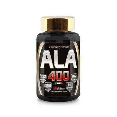 ALA 400 Acido Alfa Lipoico 60cps – Bio Extreme