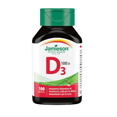 Vitamina D 1000  100cpr – Jamieson
