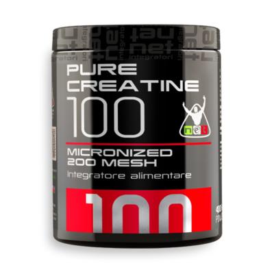 Pure Creatine 100 Micronized 400g – Net Integratori
