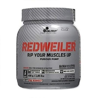 Redweiler Pre Workout 480g – Olimp Sport Nutrition