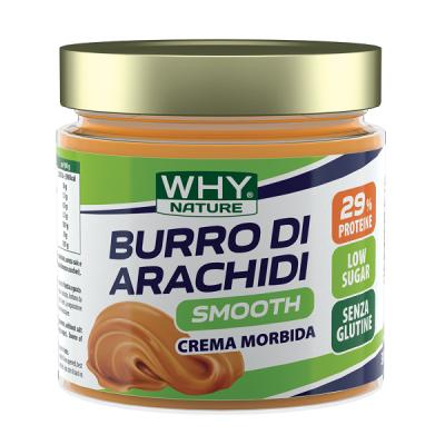 Burro di Arachidi Smooth 350g – Why Nature