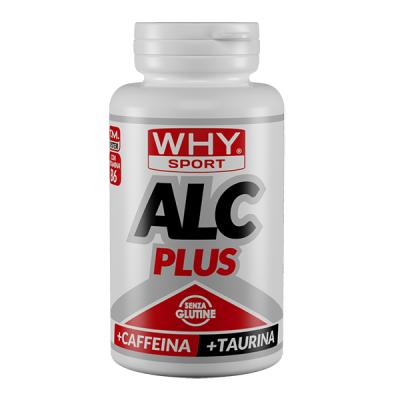 Alc Plus con Caffeina e Taurina 60cpr – Why Sport