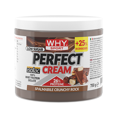 Perfect Cream 750g Crunchy Rock – Why Sport
