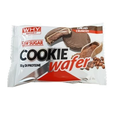 Cookie Wafer 60g – Why Sport