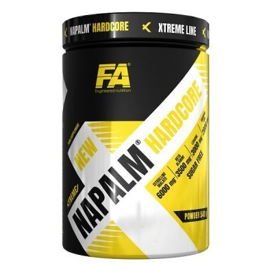 Xtreme Napalm Hardcore 540g Fruit Punch – FA Fitness Authority