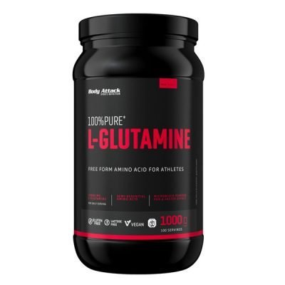 100% Pure Glutamine 1000g – Body Attack