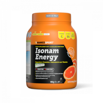 Isonam Energy Sali Minerali 480g – Named Sport