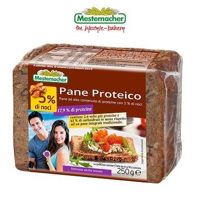 Pane Proteico 250g (5x50g) con noci – Mestemacher