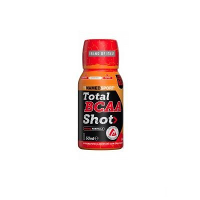 Total BCAA Shot Ice Red Fruit 60ml – Named Sport