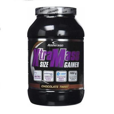 Xtra Mass Size Gainer 1100g – Anderson Research
