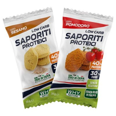 Low Carb Saporiti Proteici 30g – Why Nature