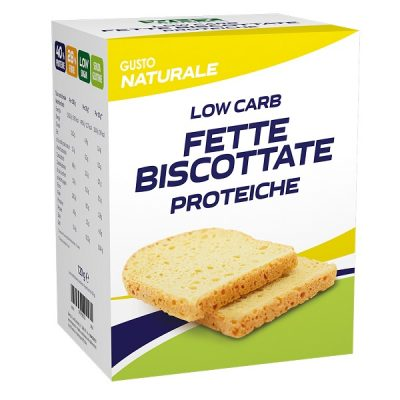 Low Carb Fette Biscottate Proteiche 4x30g – Why Nature