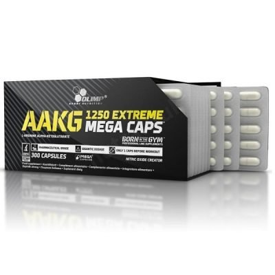 AAKG 1250 Extreme Mega Caps 300cps – Olimp Sport Nutrition