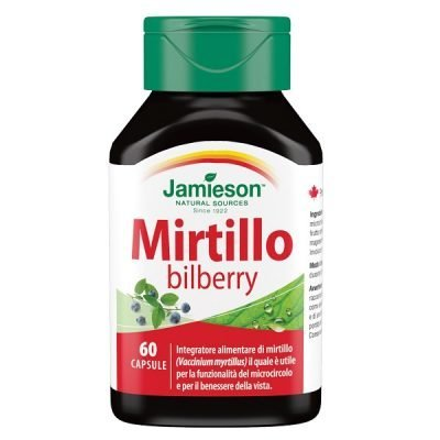 Mirtillo Bilberry 60cps – Jamieson