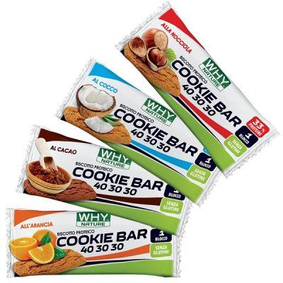 Cookie Bar 40-30-30 (21g) – Why Nature