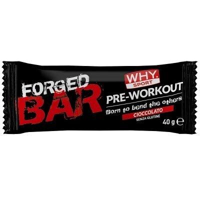 Forged Bar 40g Cioccolato – Why Sport