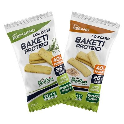 Low Carb Baketi Proteici 30g – Why Nature