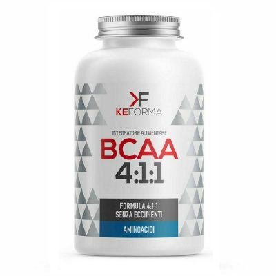 BCAA 4.1.1 Aminoacidi Ramificati 100cpr – Keforma