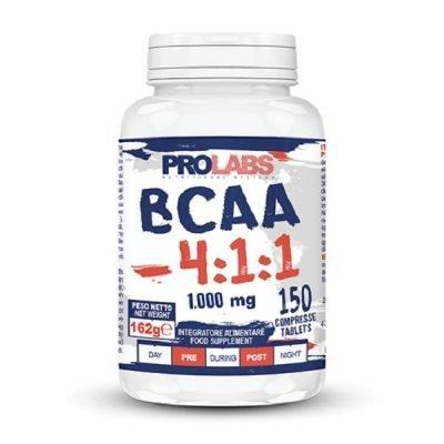 BCAA 4.1.1 Aminoacidi Ramificati 150cpr – Prolabs