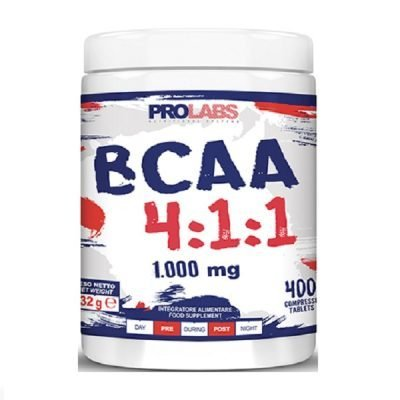 BCAA 4.1.1 Aminoacidi Ramificati 400cpr – Prolabs