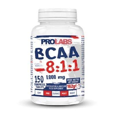 BCAA 8.1.1 Aminoacidi Ramificati 150cpr – Prolabs