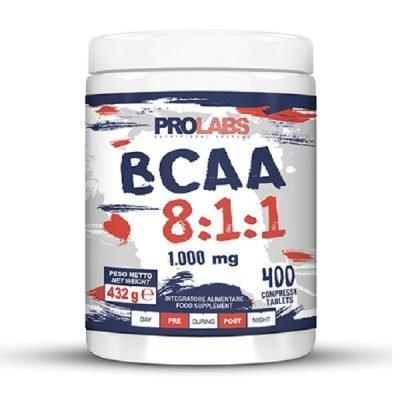 BCAA 8.1.1 Aminoacidi Ramificati 400cpr – Prolabs