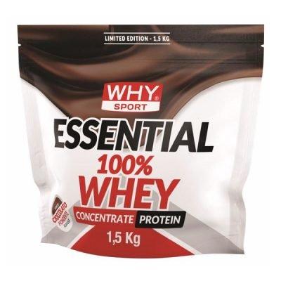 Essential 100% Whey 1,5Kg Limited Edition Cioccolato Fondente – Why Sport