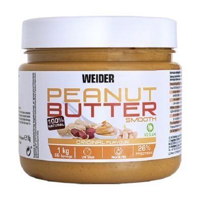 Peanut Butter Burro Arachidi 100% Smooth – Weider