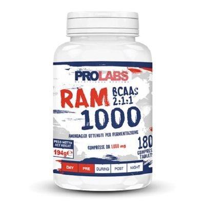 Ram 1000 BCAA 2.1.1 180cpr – Prolabs