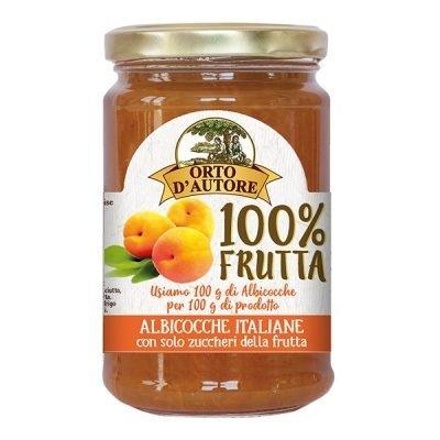Confettura 100% Frutta 340g Albicocche italiane – Orto d'autore