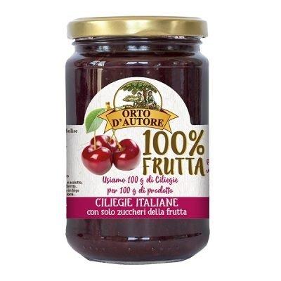 Confettura 100% Frutta 340g Ciliegie italiane – Orto d'autore