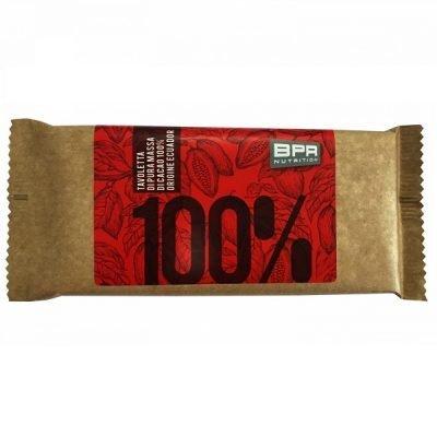 Tavoletta di Pura Massa di Cacao 100% Ecuador 80g – Bpr Nutrition