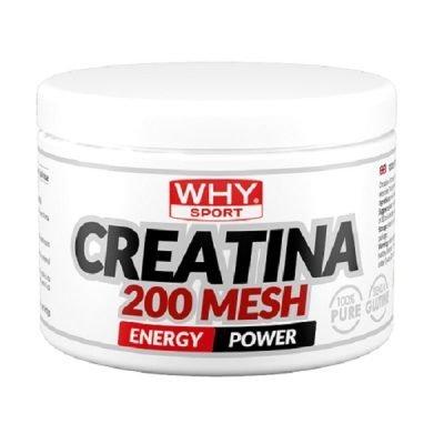 Creatina 200 Mesh Micronizzata 200g – Why Sport