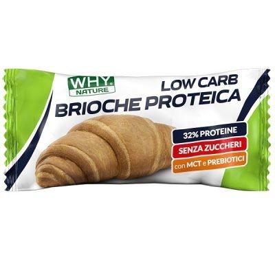 Brioche Proteica 50g – Why Nature