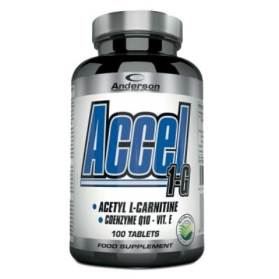 Accel 100cpr Acetil Carnitina – Anderson Research