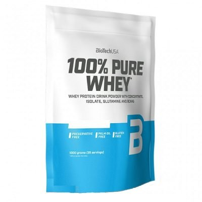 100% Pure Whey Protein 1kg – BioTech USA