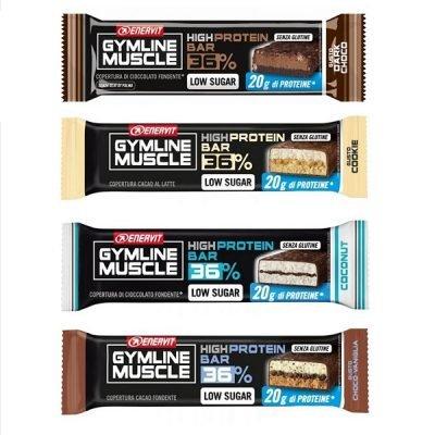Gymline 36% High Protein Bar 55g – Enervit