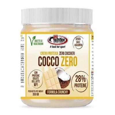 Bianco Cocco Zero Crema Spalmabile Crunchy 350g – Pronutrition